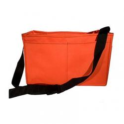 Stake bag, heavy duty, orange, 18""