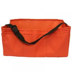 Stake bag, heavy duty, orange, 24""