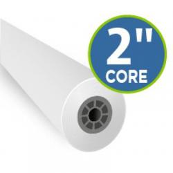 "Inkjet mylar film, double matte, erasable, 36x125ft, 2"" core, .4mil"