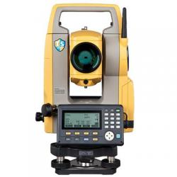 "Total station, ES-101, 0.5""/1"" dual display, laser plummet"