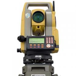 "Total station, ES-107, 1""/7"", single display, laser plummet"