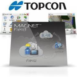Software, MAGNET, field GPS & roads