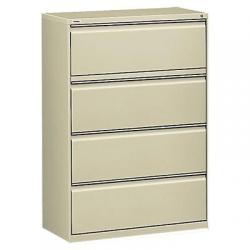 Lateral File, 4 drawer, Putty