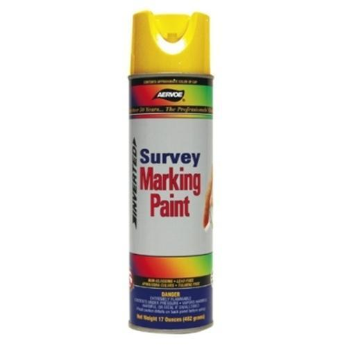 Paint, marking, survey, hi vis yellow