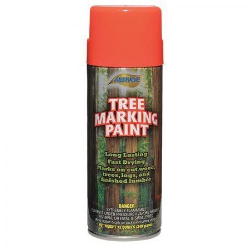 Paint, tree marking, flour orange-red