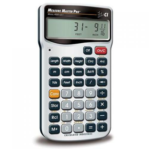 Calculator, measure, master 5