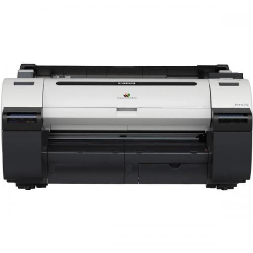 "Canon imagePROGRAF 670, 24"" printer, w/o stand, 5 color"
