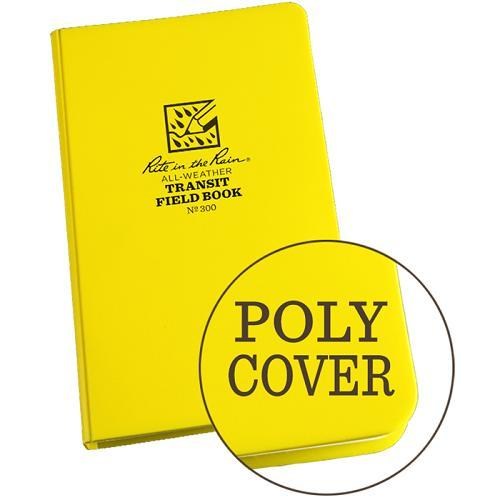 Yellow Cover Cookbook : Field book hardbound polydura cover all weather yellow