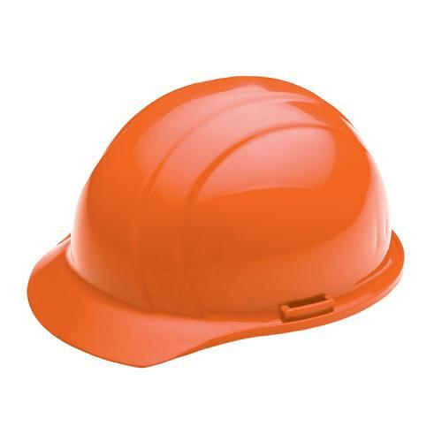 Americana Hard hat, 4-pt ratchet, standard brim, non vented, color: orange