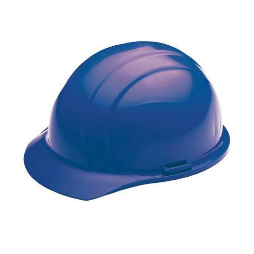 Americana Hard hat, 4-pt ratchet, standard brim, non vented, color: blue