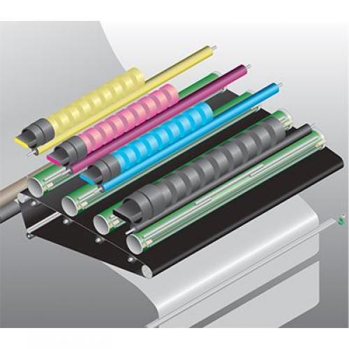 KIP 800 Series Black toner, 2 x 1,000 gram cartridges/case