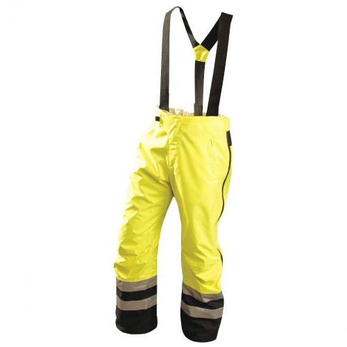 Pants, beathable, premium speed collection, class E, yellow, size 2X
