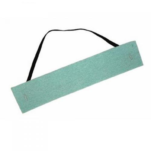 Sweat band, disposable, polyporous, blue *Clearance Item*