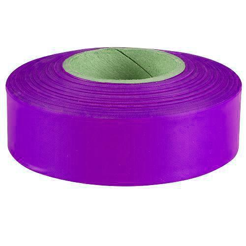 Tape, flagging, purple