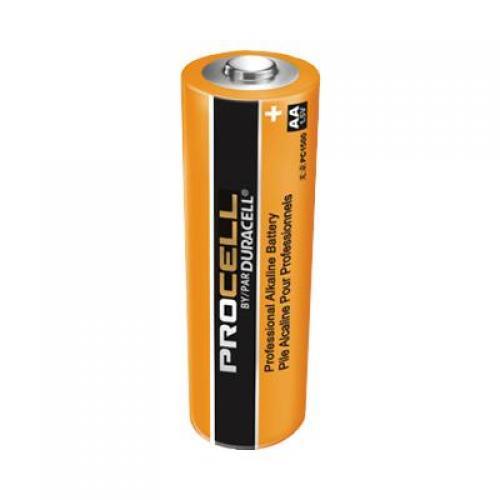 Batteries, duracell procell, alkaline, AA