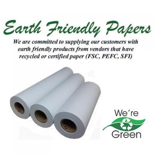 Inkjet bond, recycled, 34x300', 20#, 2ctn