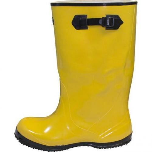 Yellow Slush Boots, Sold by the Pair, Size 16